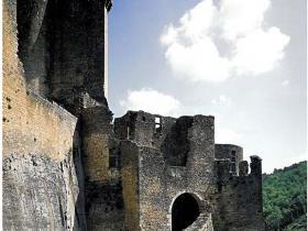 Château Bonaguil verticalités